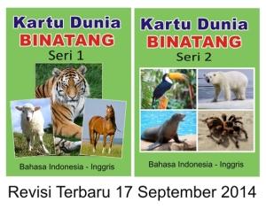 kartu dunia binatang